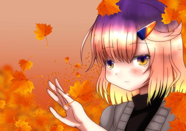 対馬、秋色に染まる