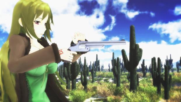 カラーでも投稿!シックスシューター玲霞さん!【Fate/MMD】