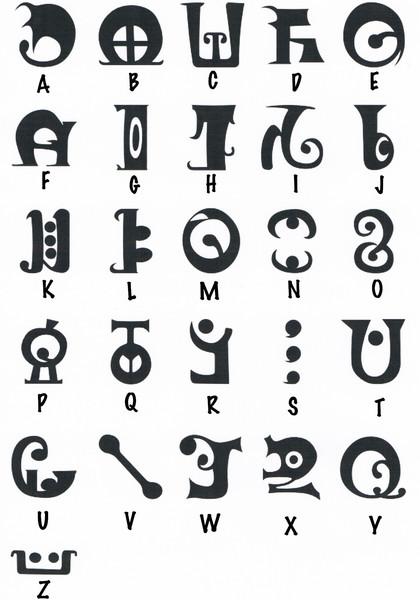 魔女文字(Archaic)