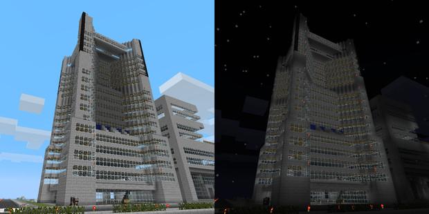 Minecraftランドマークタワー ナイアリス さんのイラスト ニコニコ