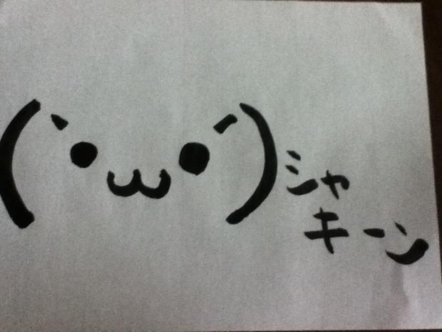 (`・ω・´)シャキーン
