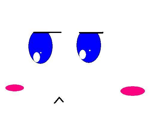 絵描きド素人の俺が東方のあるキャラの顔だけを書いてみた