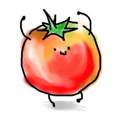 動物の壁紙 無料ダウンロードミニトマト イラスト かわいい