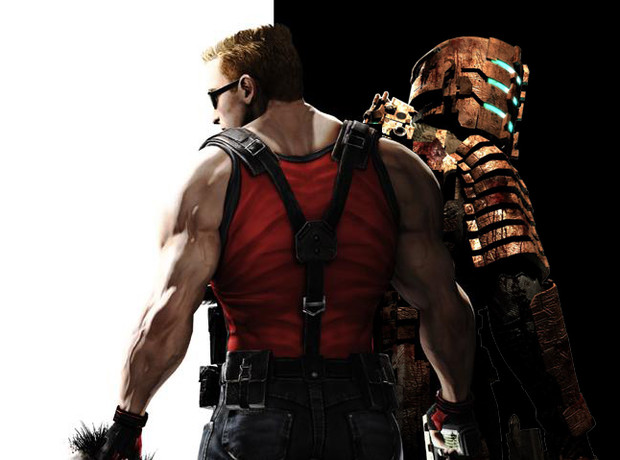 Duke Nukem and Issac Clark
