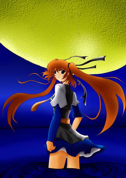 月を見て・・・いきおいで!!!