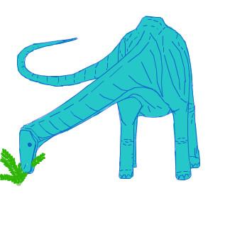 お絵カキコ・アパトサウルス