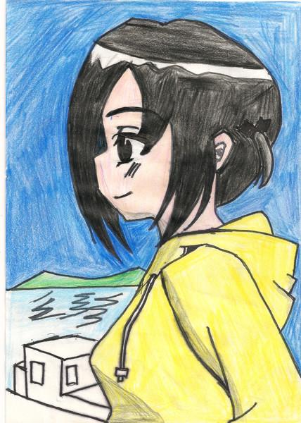 西沢歩を描いてみたw