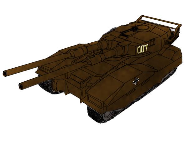 M61A5 (ドイツ陸軍風カラー)