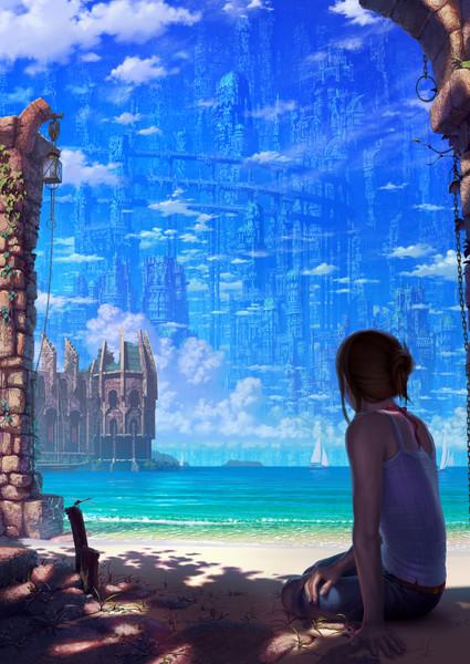 蒼の摩天楼