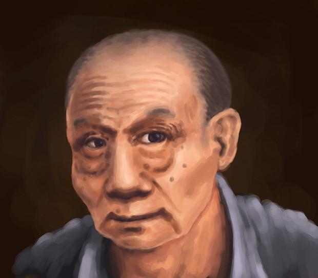 岡本太郎氏の肖像