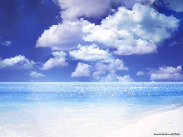 綺麗な空と海 ヨッシー さんのイラスト ニコニコ静画 イラスト