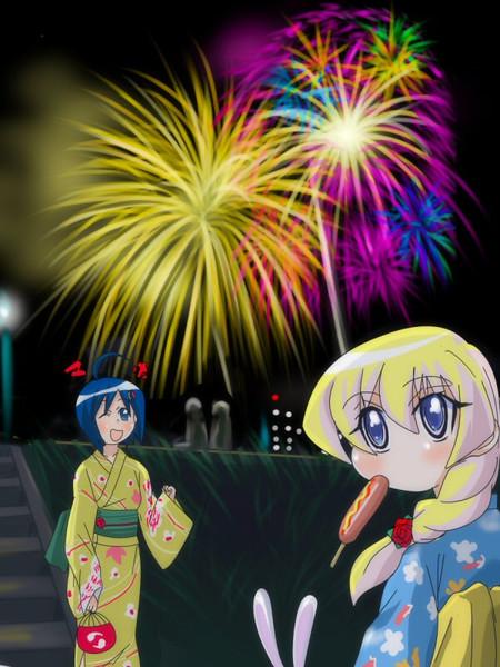 ぱにぽにの花火大会