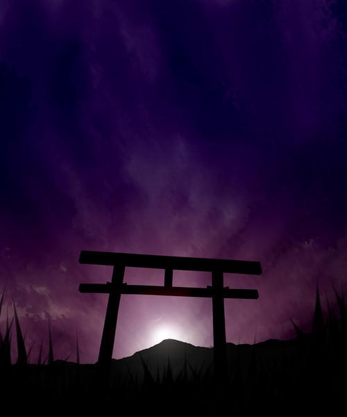宵の平原にて - ニコニコ静画 (...