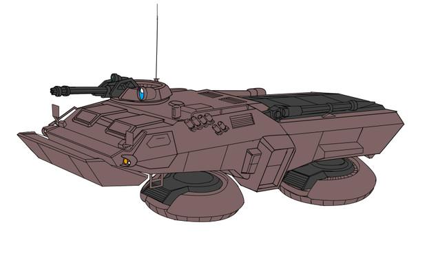 M353A4 74式ホバートラック 「ブラッドハウンド」
