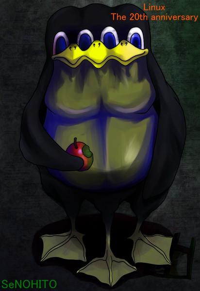 ドーピング・リナックス・ペンギンだ!!
