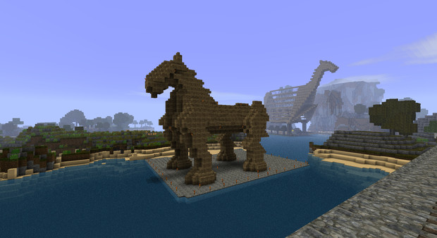 の 木馬 トロイア
