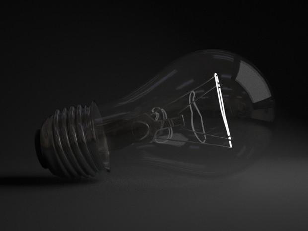 【3DCG】電球