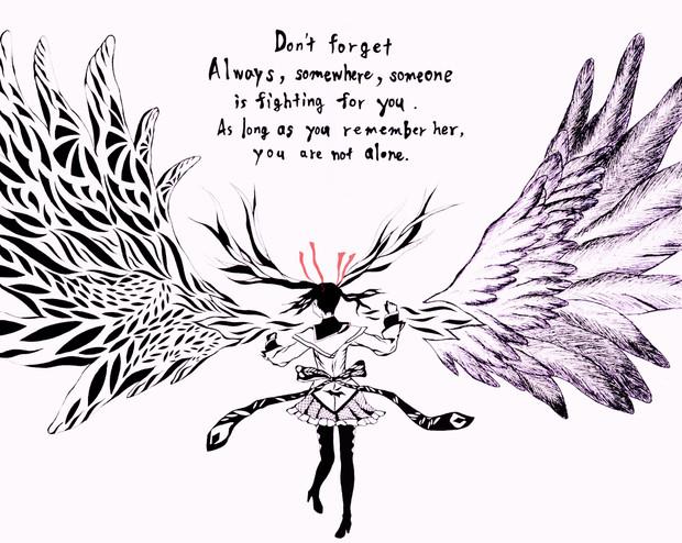 彼女の意思は翼で抱いて Dochi さんのイラスト ニコニコ静画 イラスト
