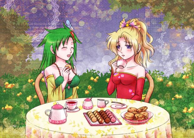乙女のお茶会