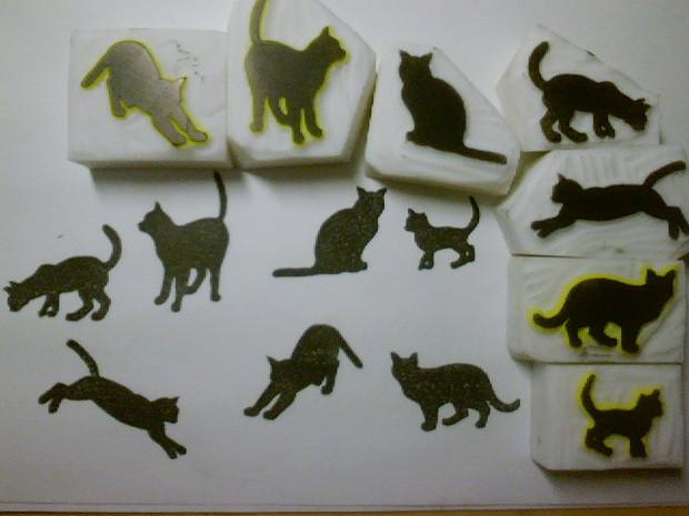 【消しハン】ネコ