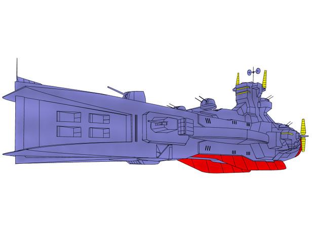 SALAMIS サラミス級宇宙巡洋艦