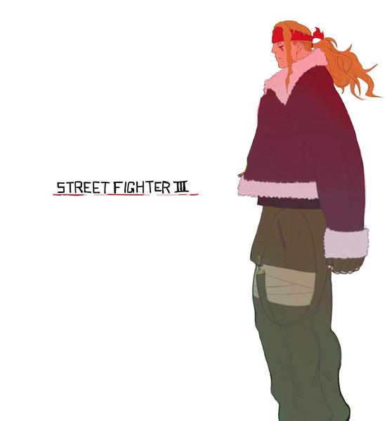 STREET FIGHTER Ⅲ  -アレックス-