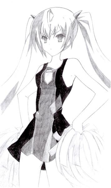 神埼・H・アリア 描いてみた