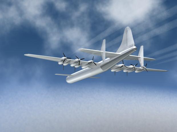 Big Mobile Combat Plane