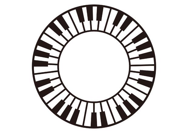 【背景素材33】鍵盤3