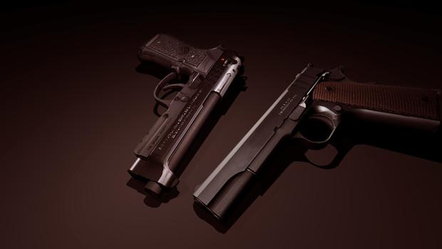 M1911&92A1
