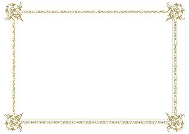 【背景素材92】フレーム7