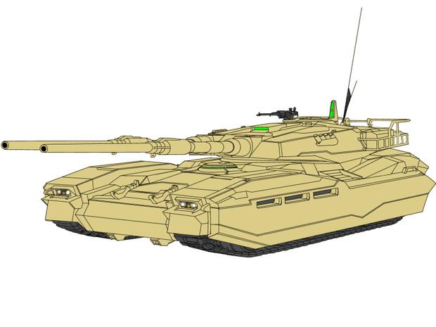 M61A8 61式Ⅷ型戦車