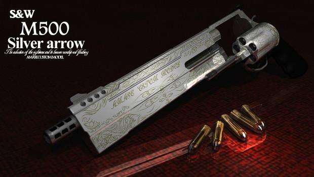 S&W M500 Silver arrow