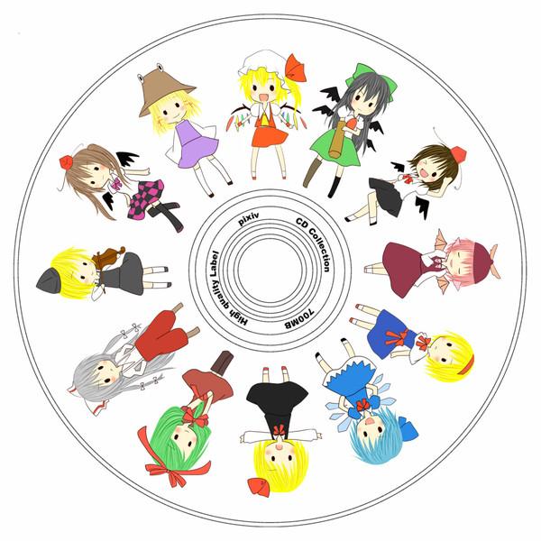 CD レーベル