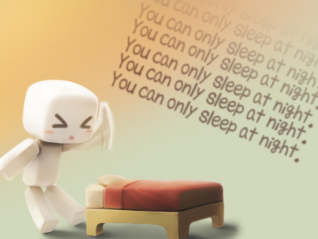 you can only sleep at night ねこいた さんのイラスト ニコニコ静