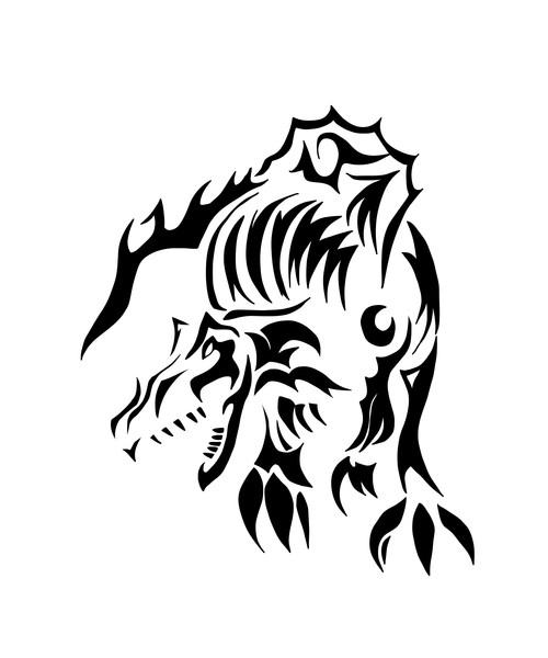 スピノサウルス トライバル