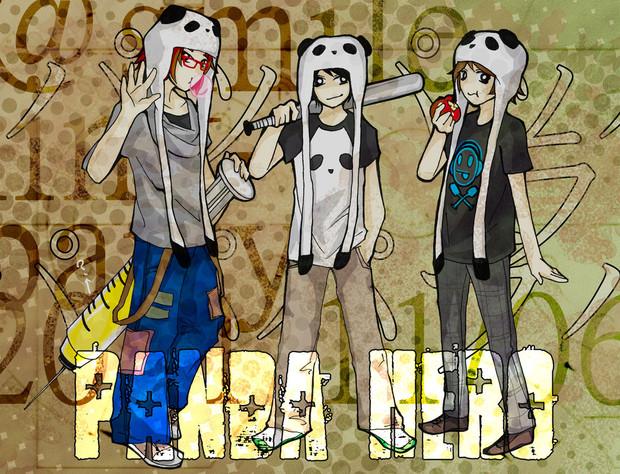 パンダのヒーローたち