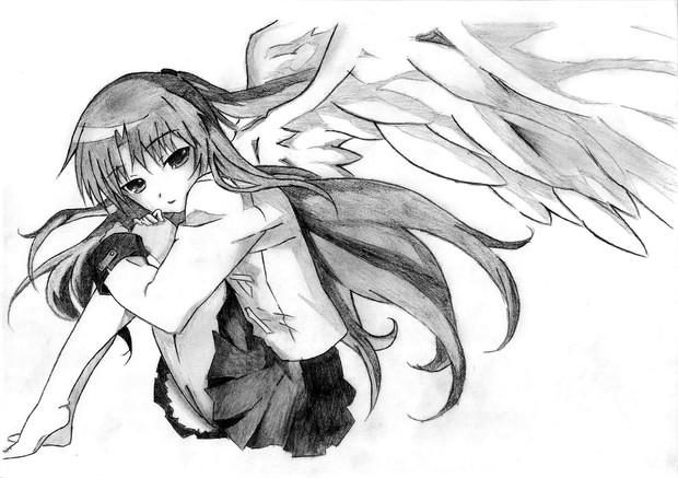 天使ちゃん 模写