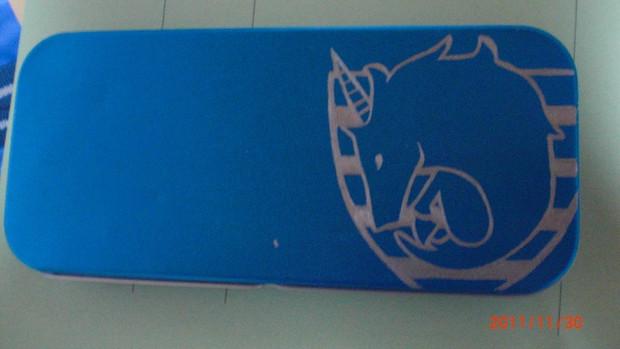 カンペンケースに彫ってみた!