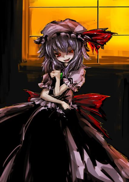 devilish smile