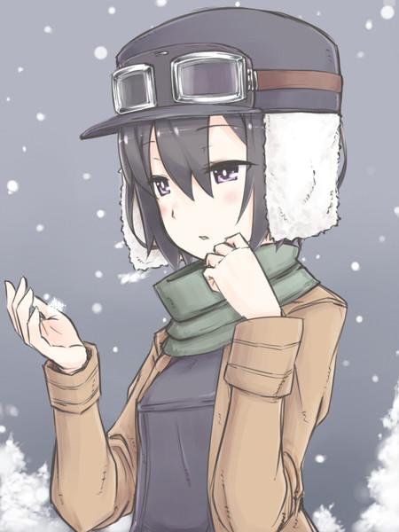 雪の降る国