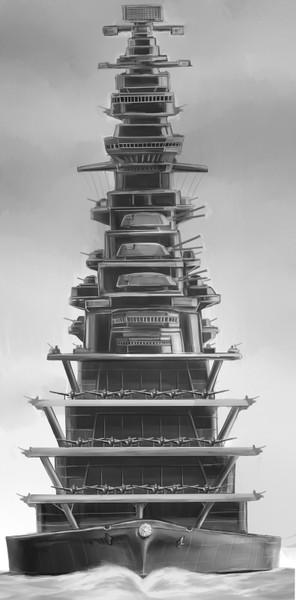超巨大航空戦艦