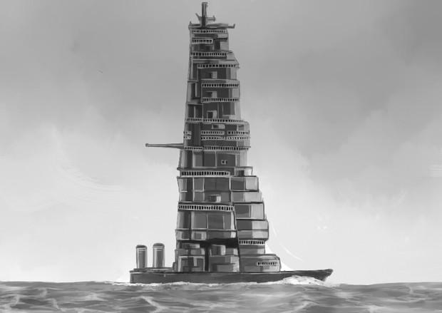 超艦橋頑張りすぎちゃった戦艦!