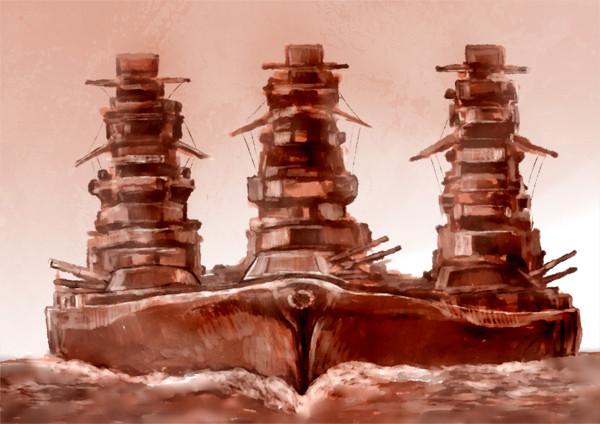 戦艦内派閥闘争。