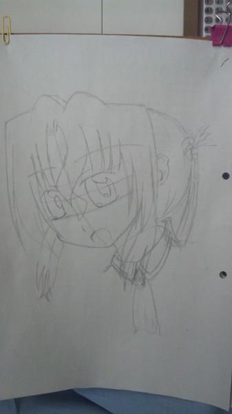 マリアさん 描く練習