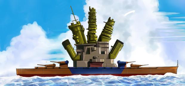 「戦艦!」 「クリリンのことかー!」 首相「もう!両方採用!!」