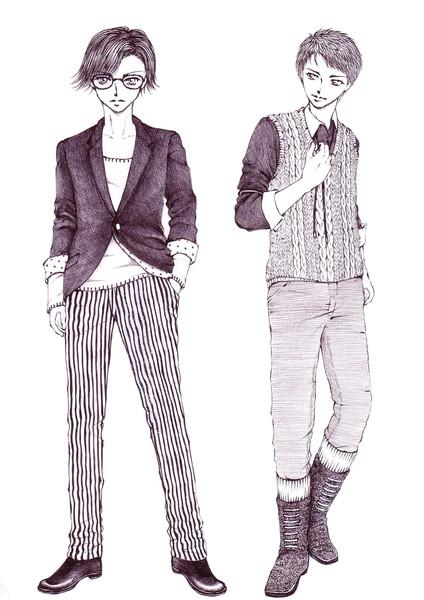 メンズファッション カラコ さんのイラスト ニコニコ静画 イラスト