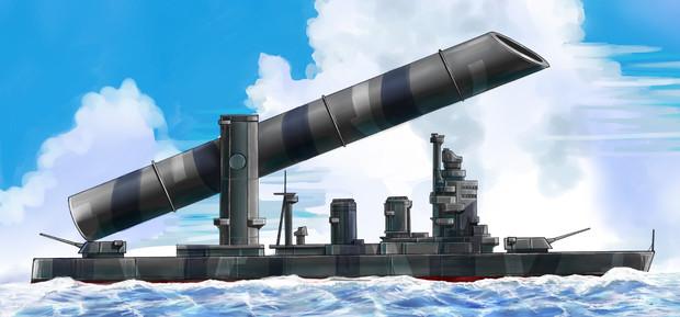 「戦艦!」 「ししおどし!」 首相「もう!両方採用!!」