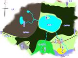 幻想郷の地図