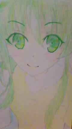 【年賀状】GUMIを描いてみた。